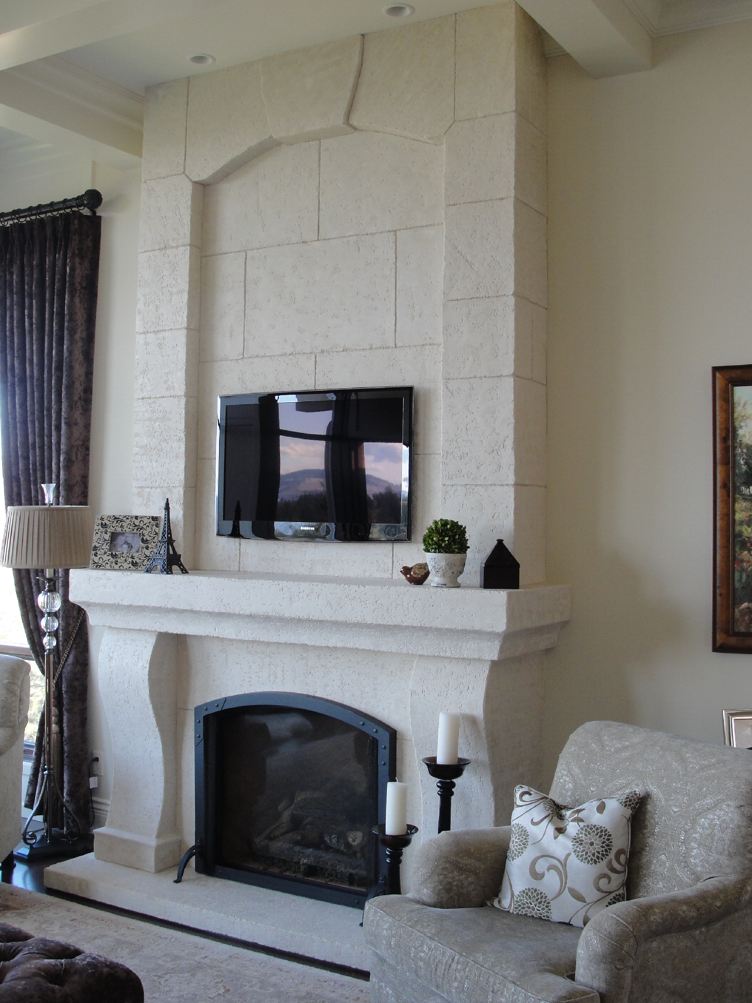 100 Custom Fireplace Mantels And Wall